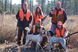 Georgia Quail Invitational 2015